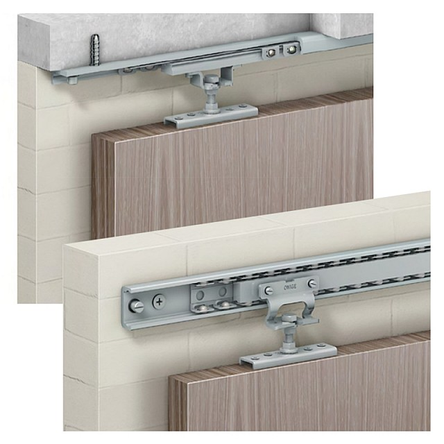 HEAVY DUTY SLIDING DOOR SYSTEM SET P180 141-150 / 180kg